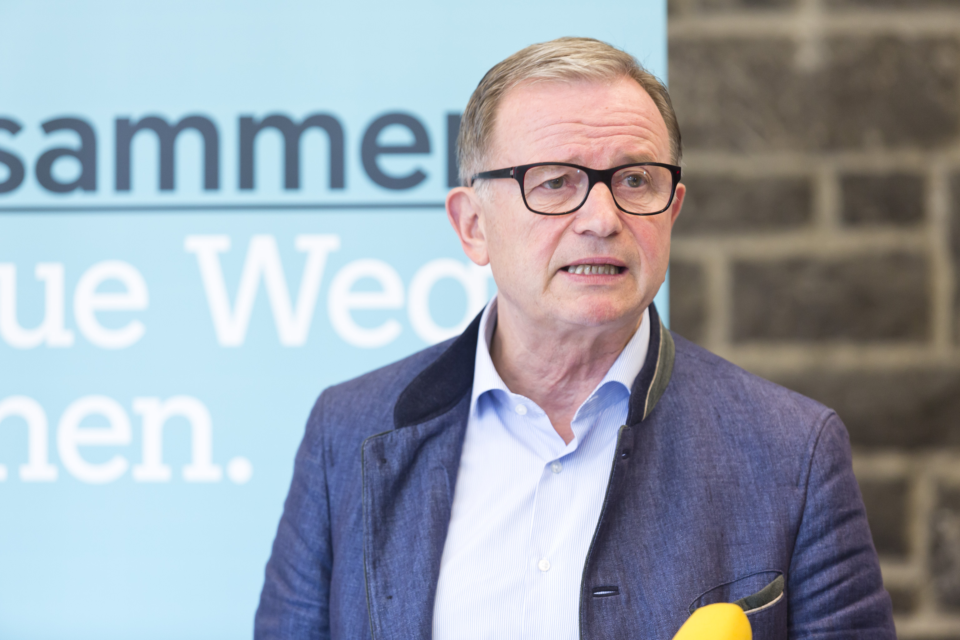 Feldkirch am 8.9.2017 PK Pressekonferenz Karlheinz Kopf und LH Markus Wallner im Roessle Feldkirch